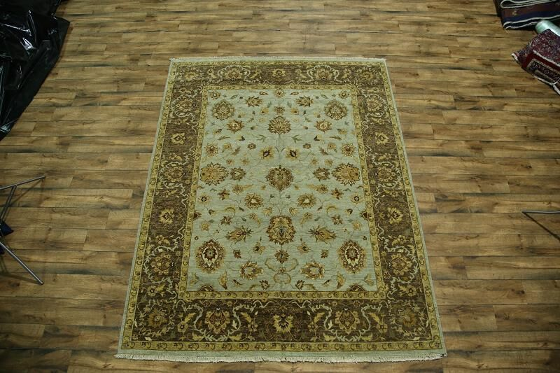 One-of-a-Kind Bovill Agra Oriental Hand-Knotted Wool Brown/Beige Area Rug