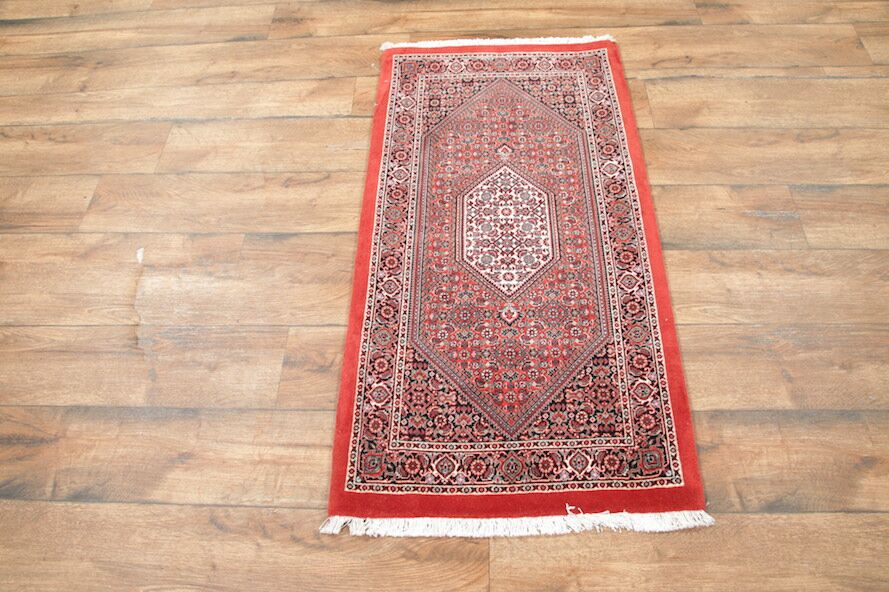 One-of-a-Kind Nolte Bidjar Traditional Persian Hand-Knotted 2'5