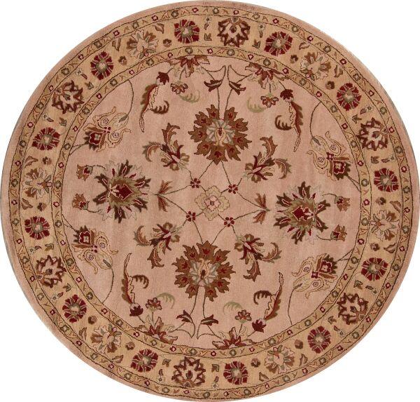 Mccoy Oushak Agra Oriental Hand-Tufted Wool Beige Area Rug