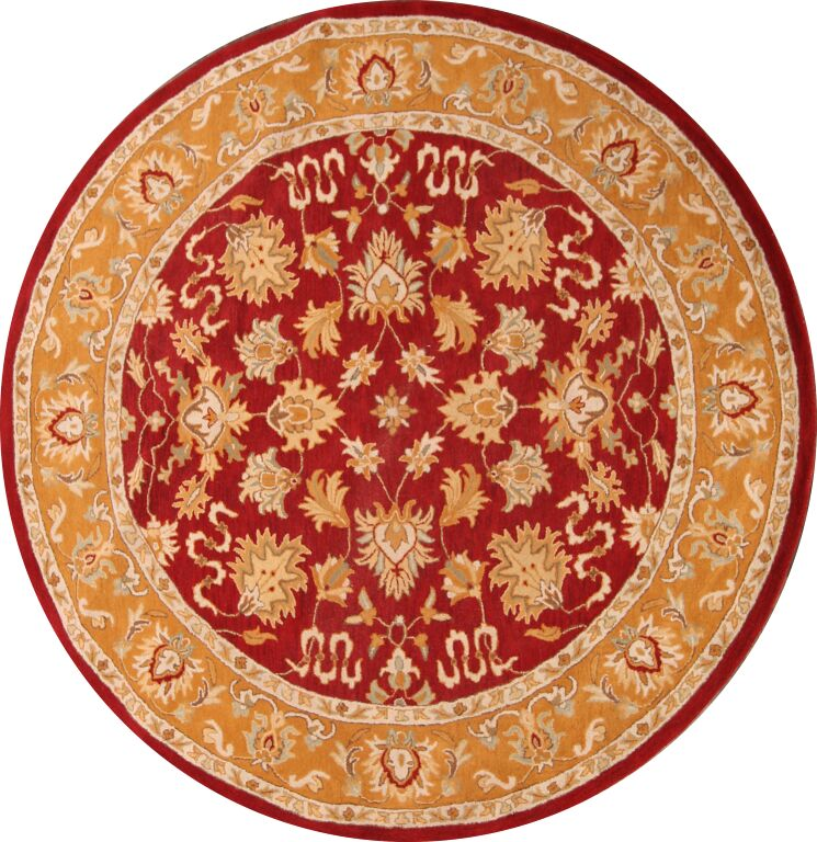 Melissa Oushak Oriental Hand-Tufted Wool Red/Brown Area Rug