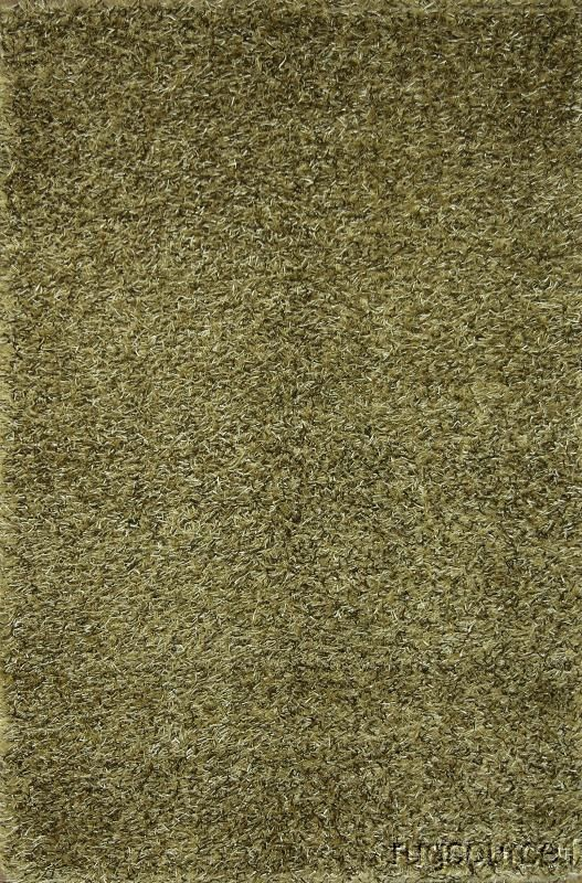 Robyn Shaggy Oriental Hand-Knotted Wool Beige Area Rug