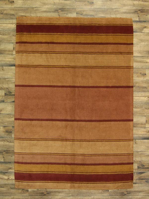 Seidman Oriental Hand-Tufted Wool Rust Area Rug