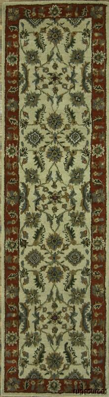 Bovill Agra Indian Oriental Hand-Tufted Wool Brown/Beige Area Rug