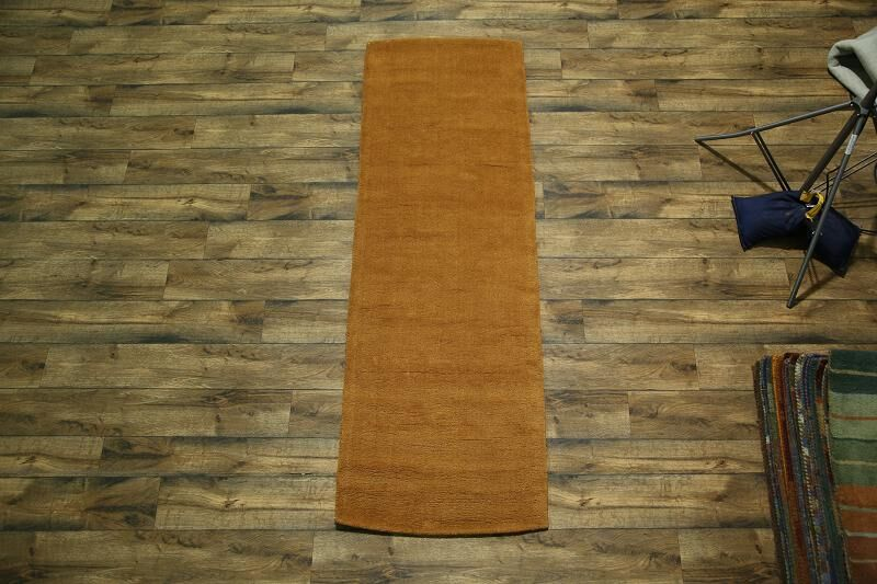Fortune Oriental Hand-Tufted Wool Orange/Rust Area Rug