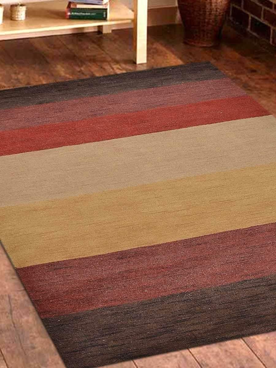 Seidman Oriental Hand-Knotted Wool Beige/Brown Area Rug