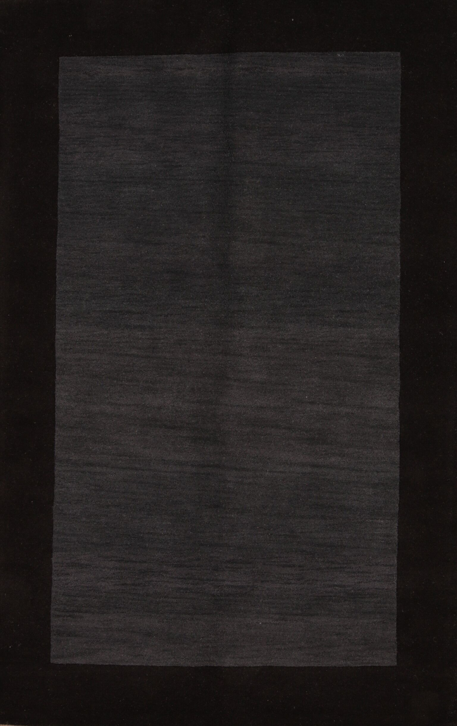 Seidman Oushak Oriental Hand-Tufted Wool Black Area Rug