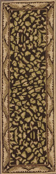 One-of-a-Kind Bovill Agra Oriental Hand-Tufted Wool Brown Area Rug
