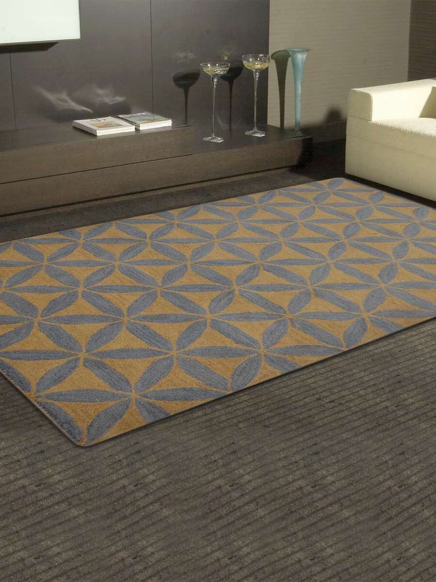 Melissa Oushak Hand-Tufted Wool Blue/Brown Area Rug