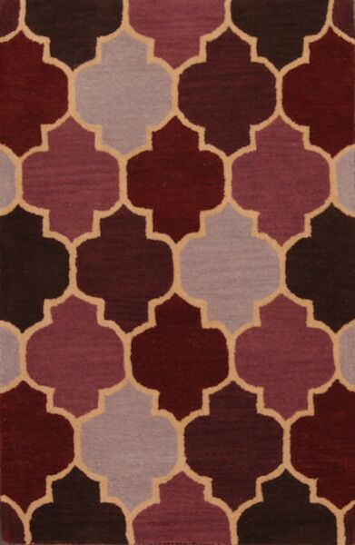 One-of-a-Kind Batson Oushak Oriental Hand-Tufted Wool Red/Burgundy Area Rug
