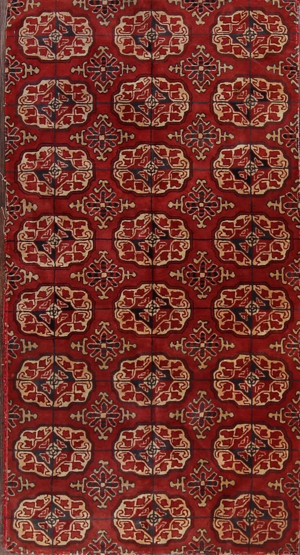 Sonntag Turkoman Jaipur Antique Oriental Hand-Knotted Wool Red/Burgundy Area Rug