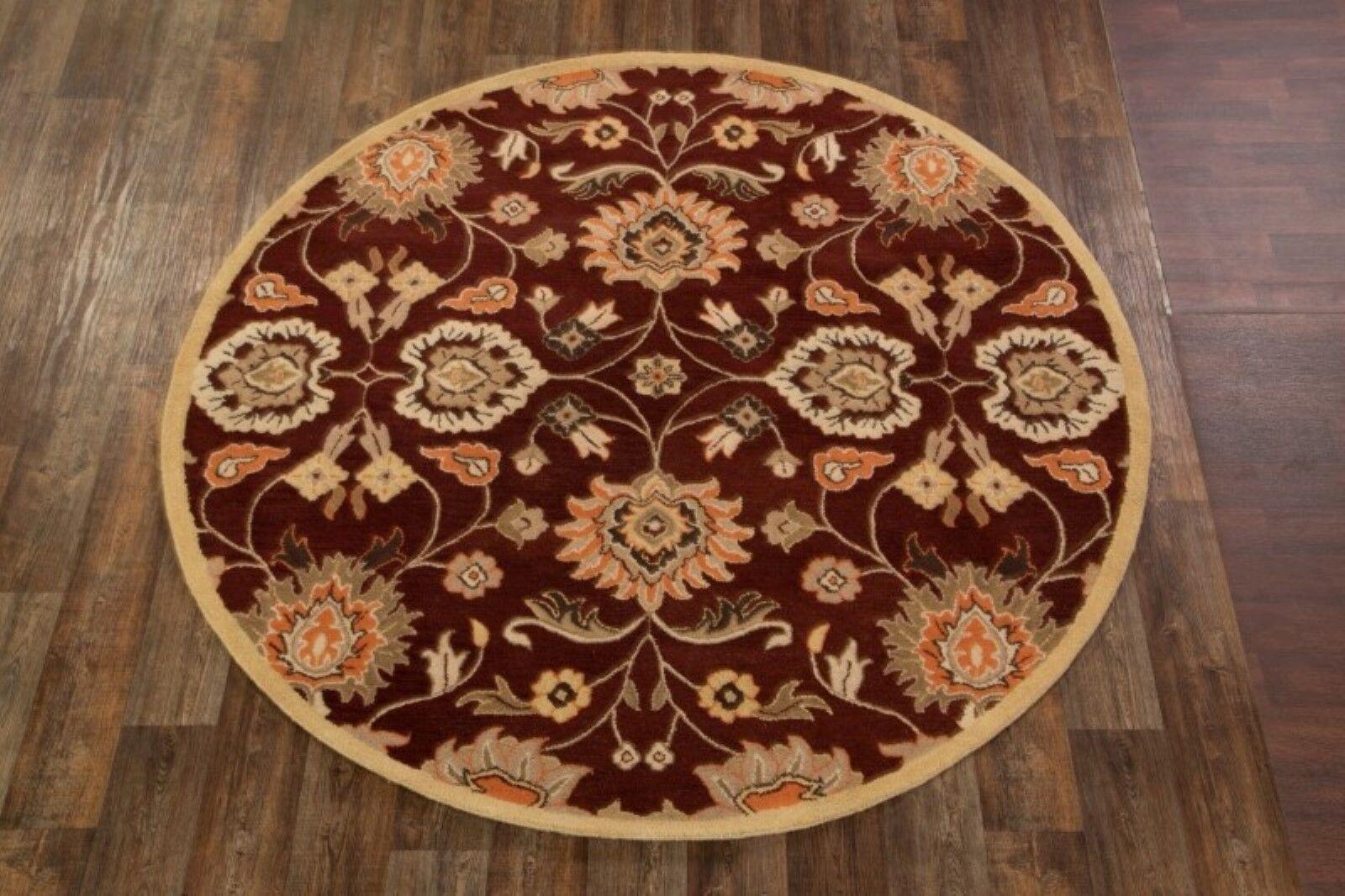Bedminster Tabriz Agra Oriental Hand-Tufted Wool Beige/Orange Area Rug