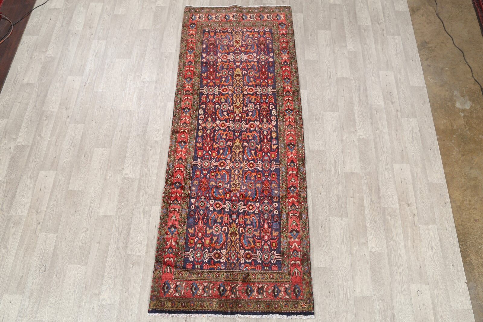 One-of-a-Kind Malayer Persian Vintage Hand-Knotted 3'9