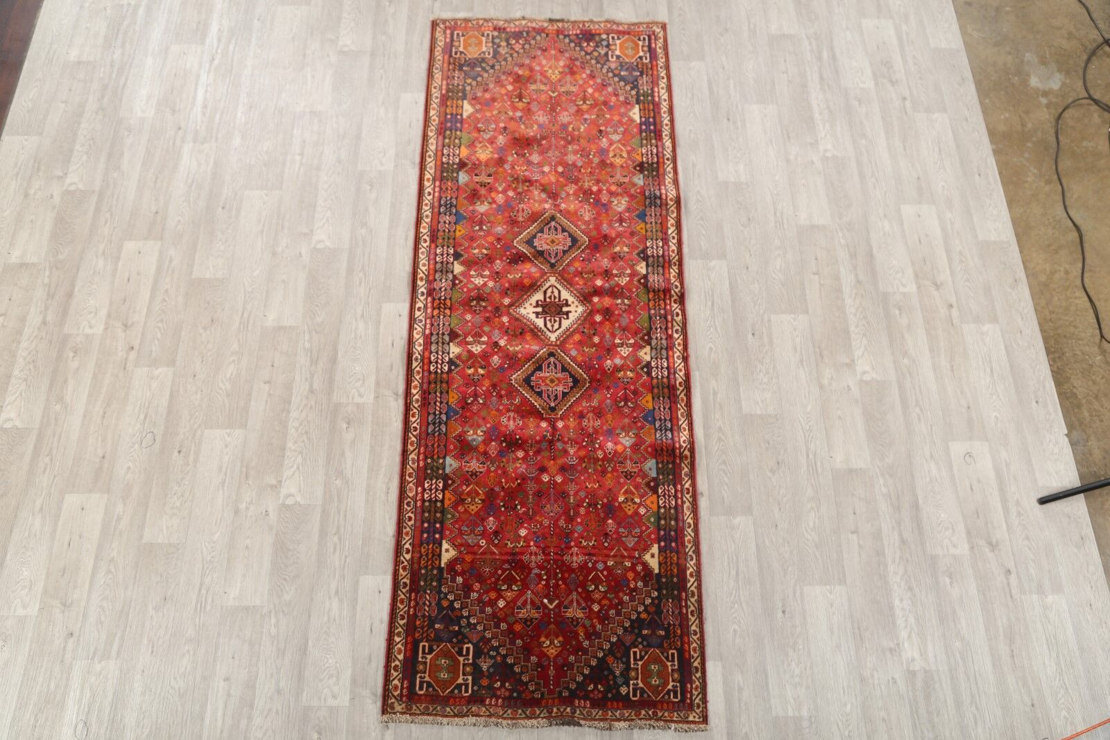 One-of-a-Kind Goings Abadeh Shiraz Persian Hand-Knotted 3'4