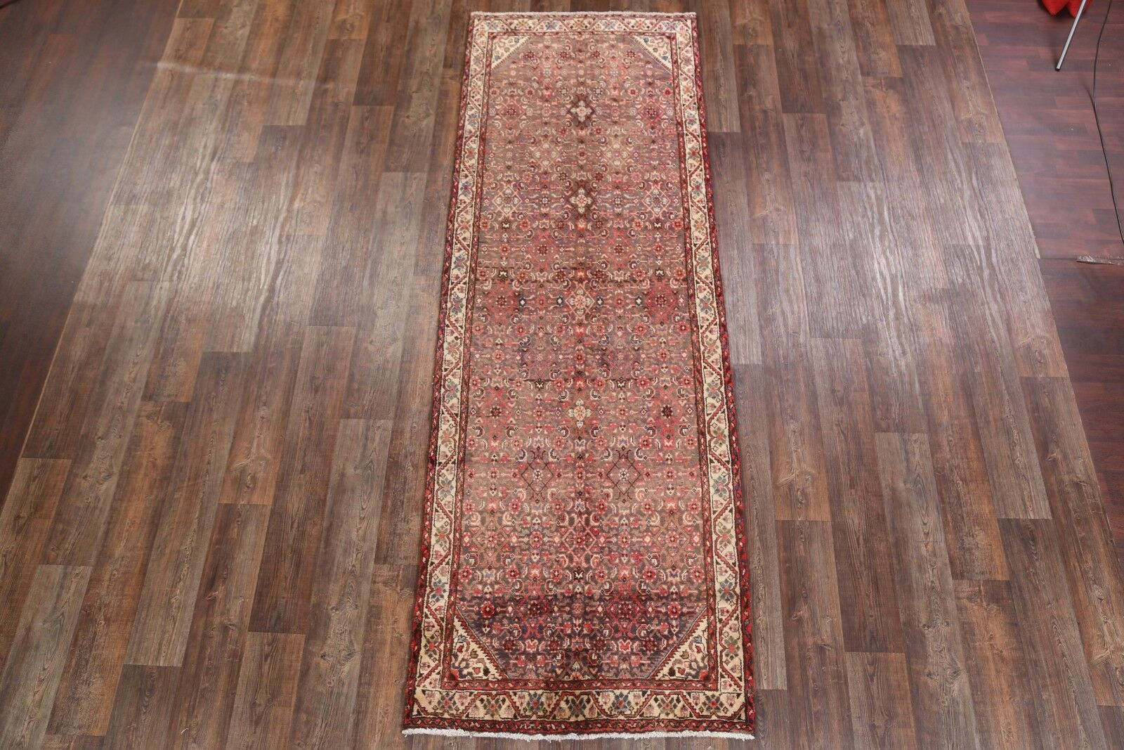 One-of-a-Kind Mulholland Hamedan Persian Vintage Hand-Knotted 3'9