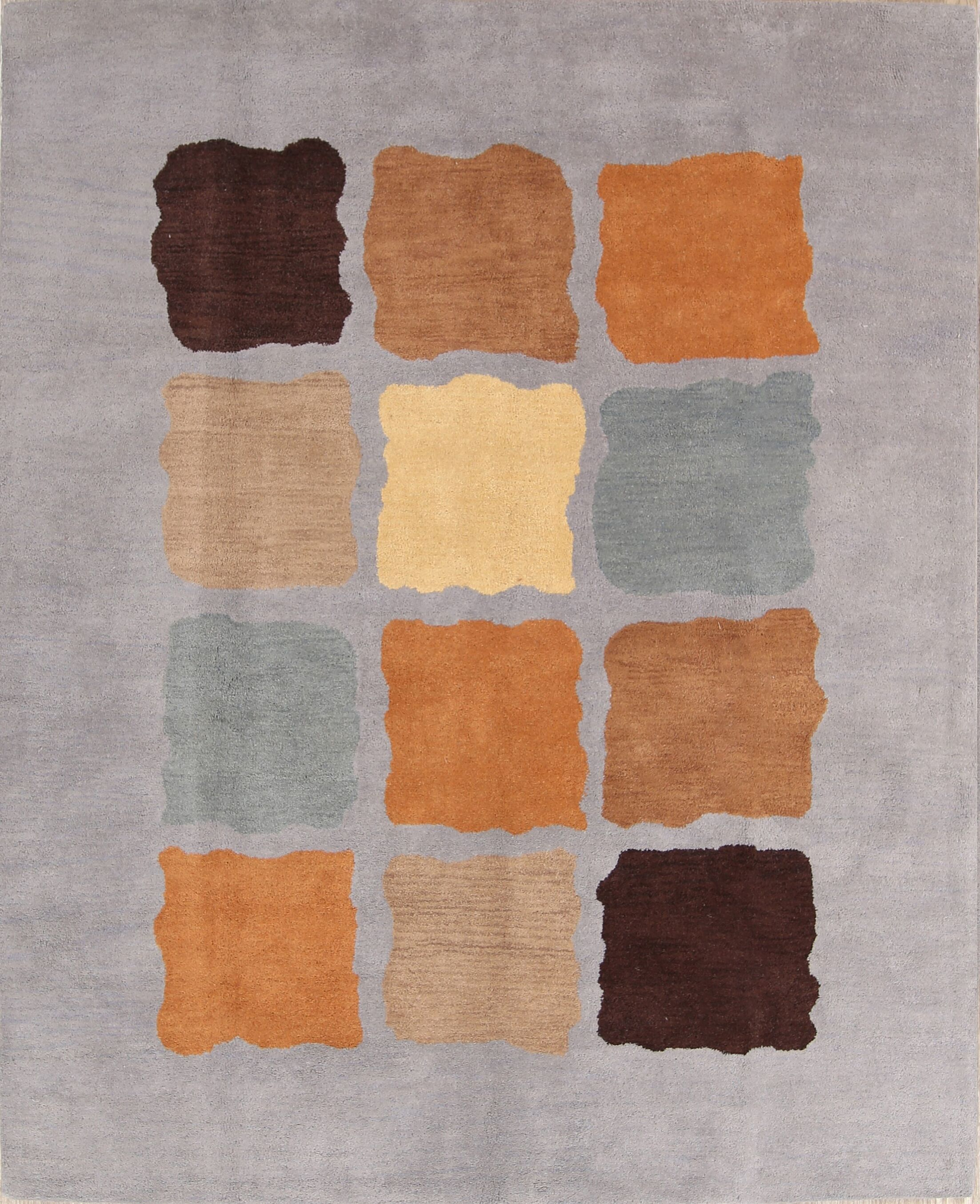 Lilly Gabbeh Oushak Oriental Hand-Tufted Wool Beige/Blue/Brown Area Rug