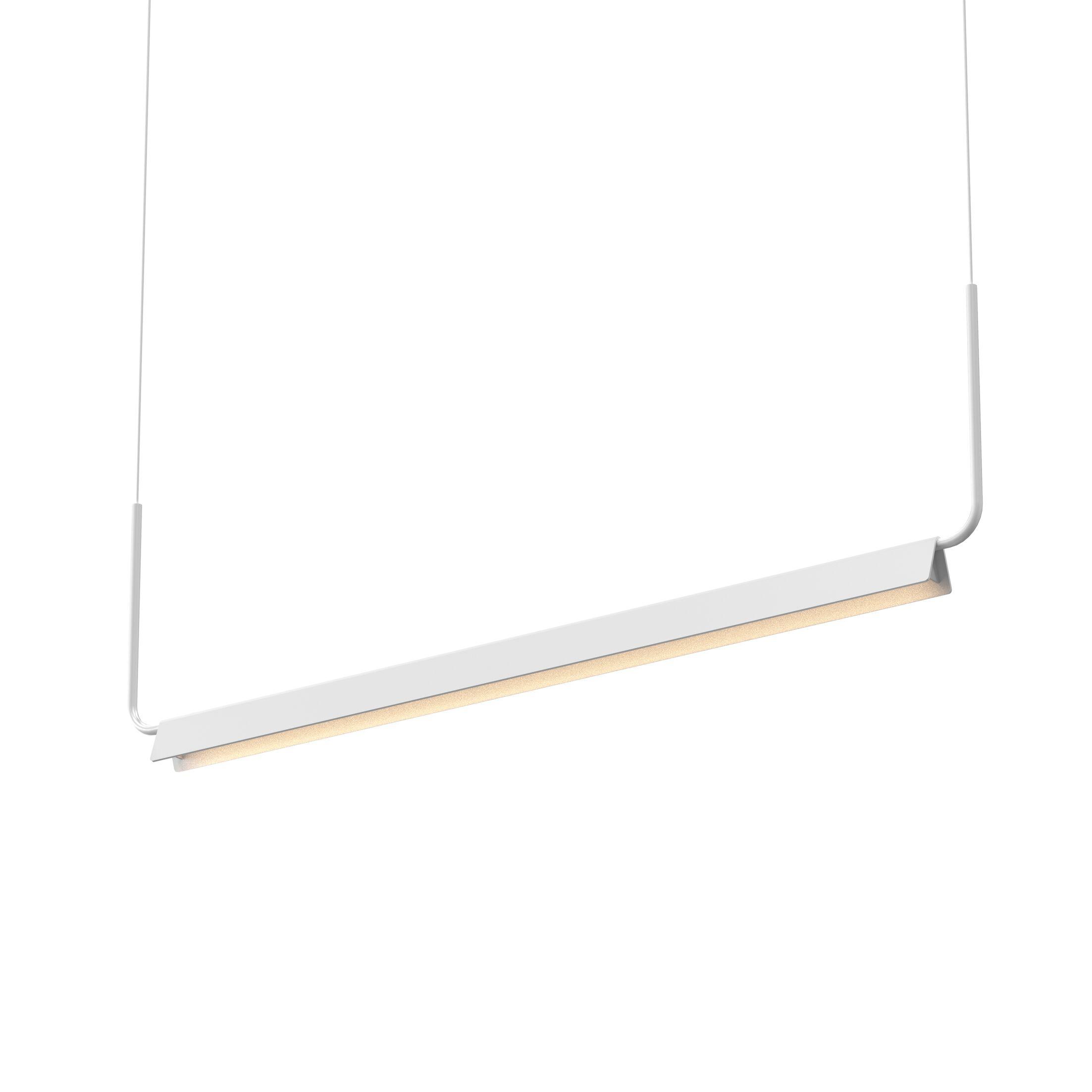 Morii 1-Light LED Kitchen Island Pendant Finish: Satin White