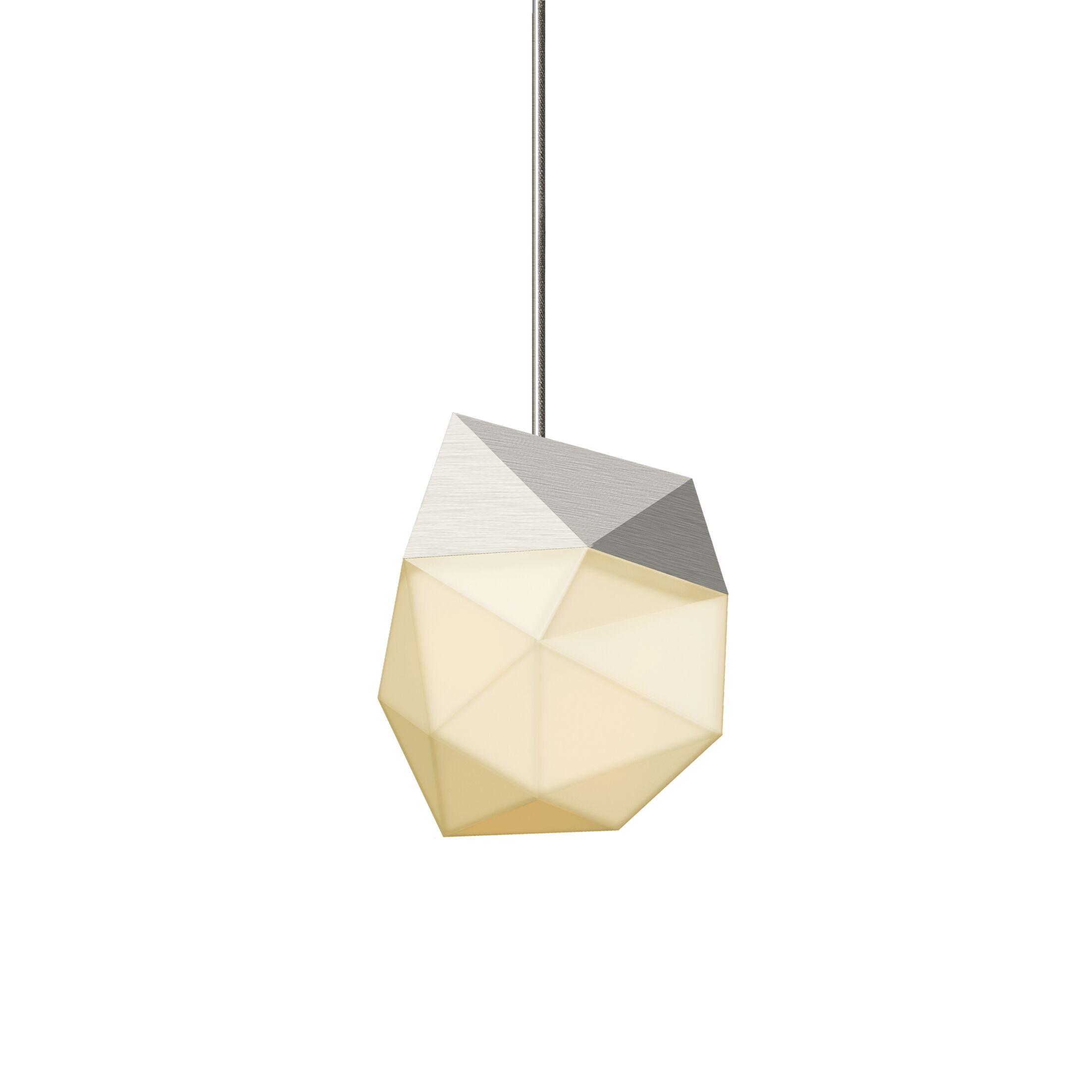1-Light  LED Novelty Pendant Finish: Satin Nickel