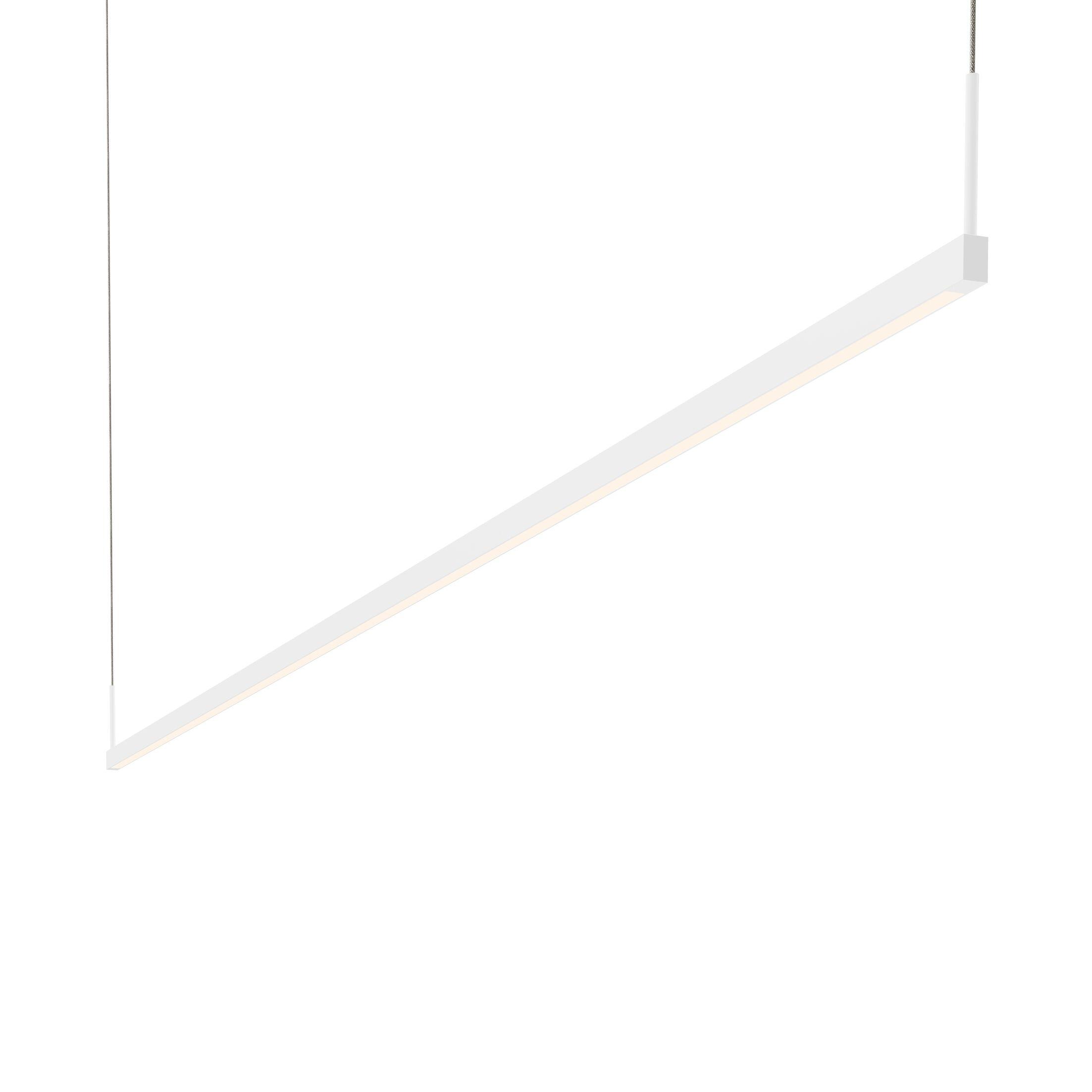 1-Light LED Kitchen Island Pendant Finish: Satin White