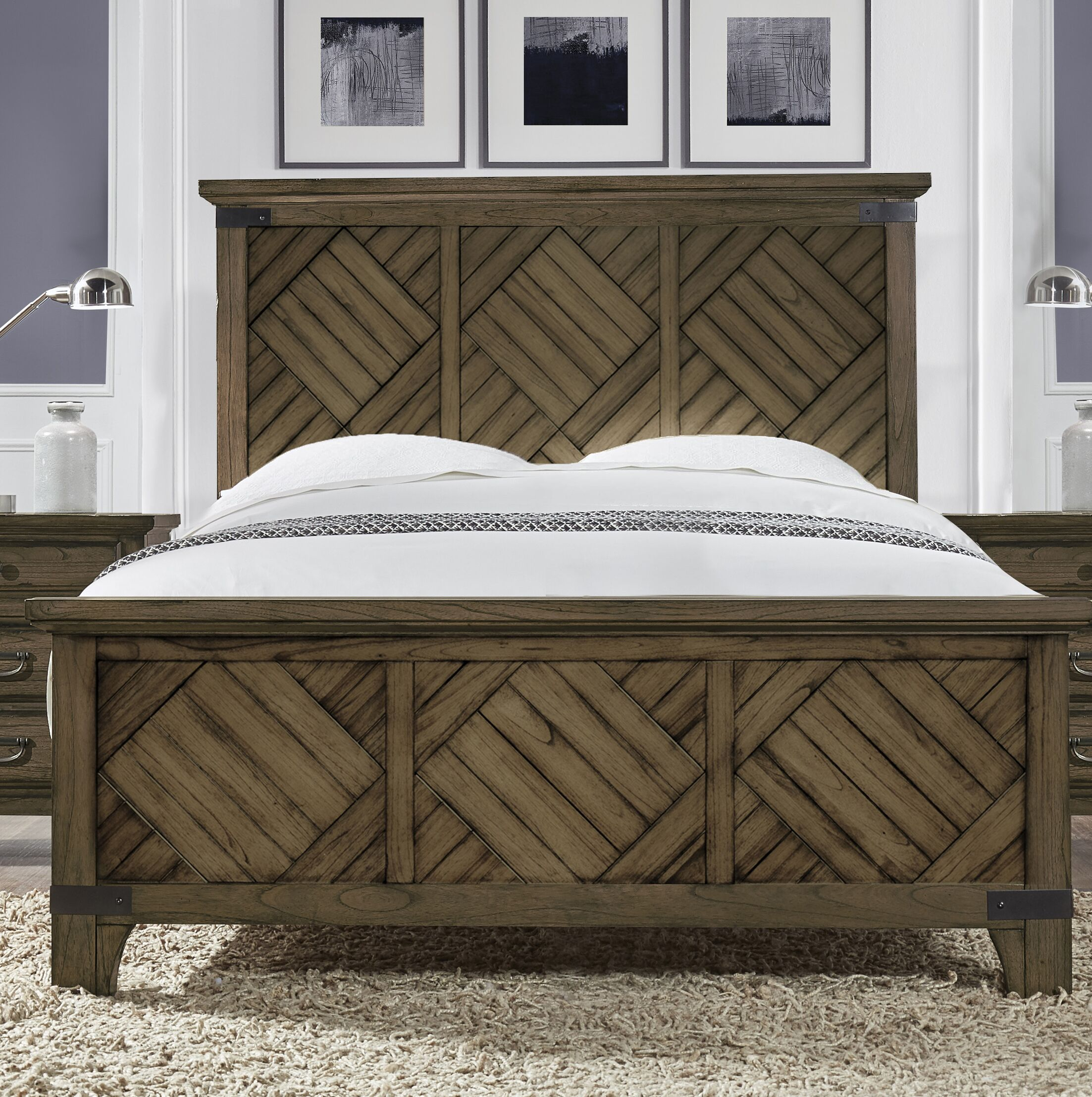 Mcfaddin Platform Bed Size: King