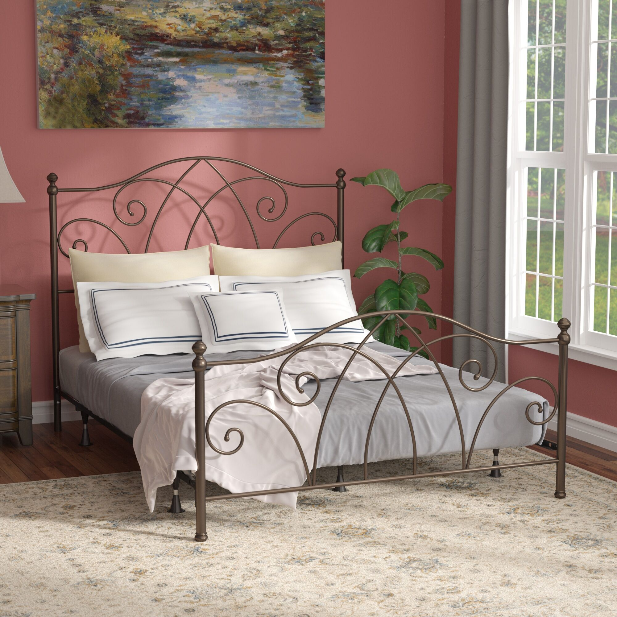 Goreville Panel Bed Size: Queen