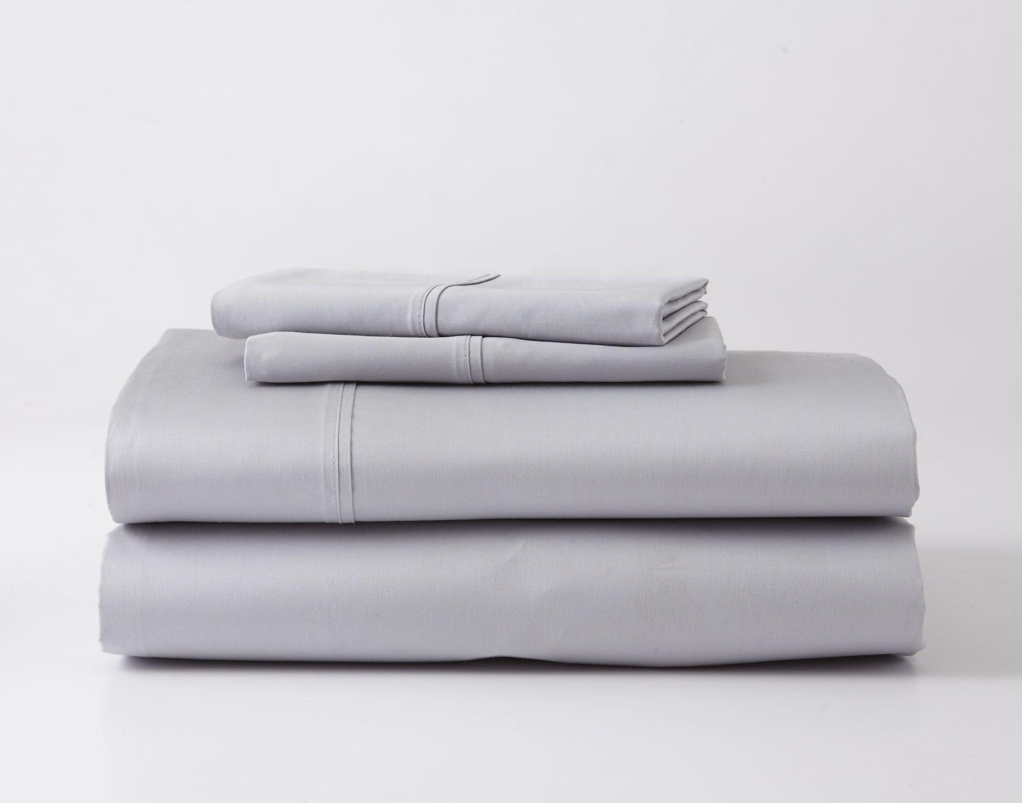 Headen Luxury Performance Sheet Set Size: Full, Color: Gray