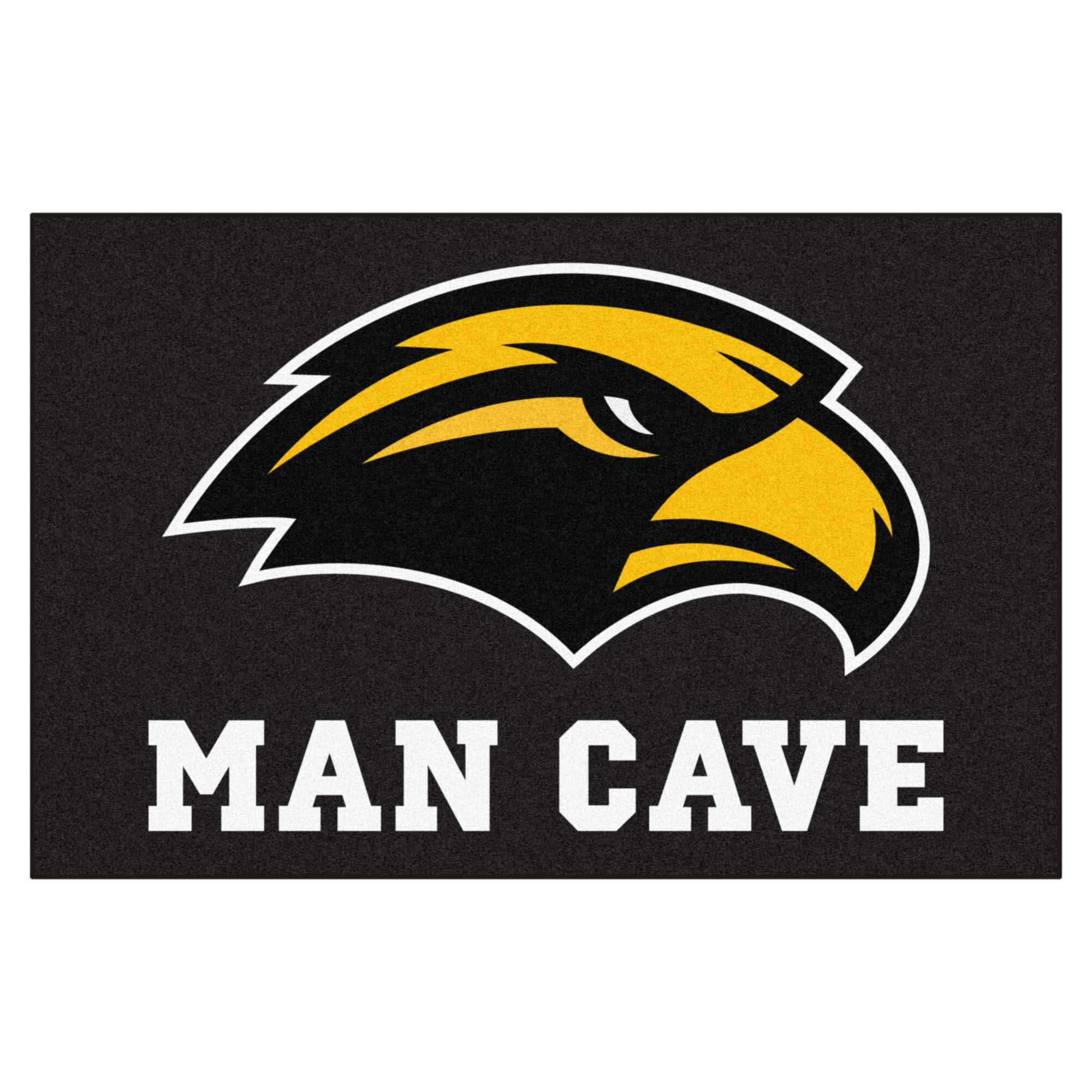 University of Southern Mississippi Doormat Mat Size: Rectangle 1'7