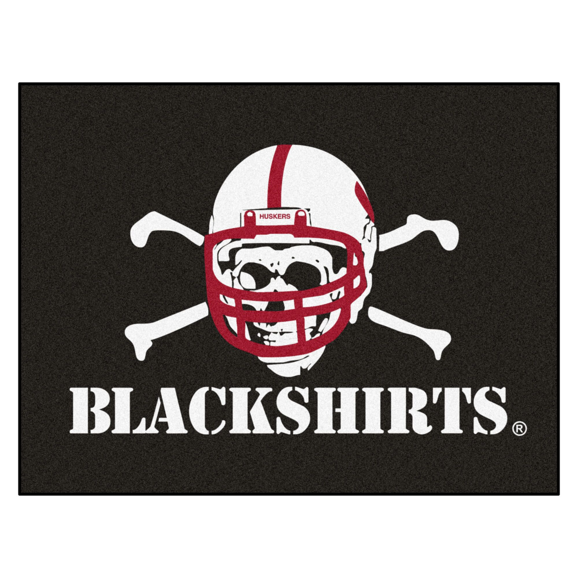 University of Nebraska - Blackshirts Doormat Mat Size: Rectangle 2'10
