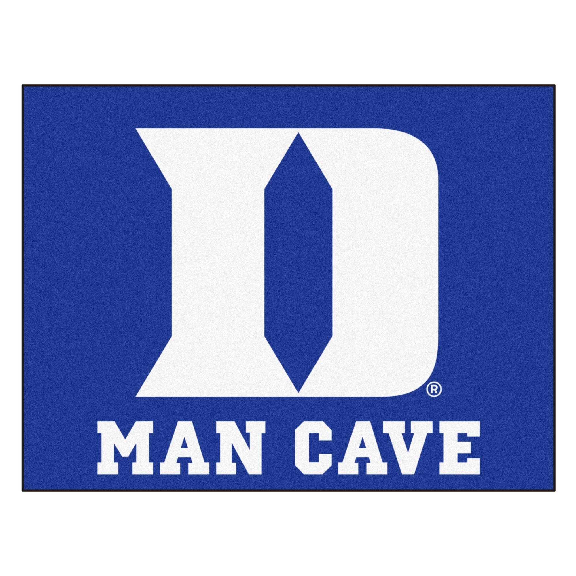 Duke University Doormat Mat Size: Rectangle 2'10