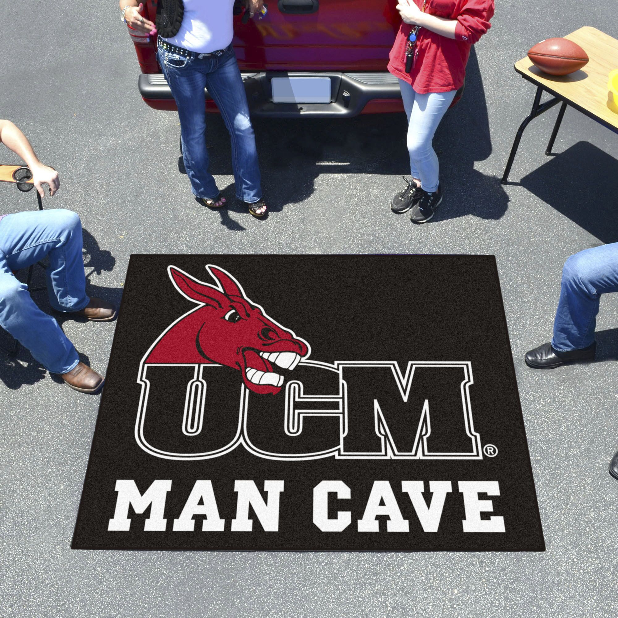University of Central Missouri Doormat Mat Size: Rectangle 5' x 6'