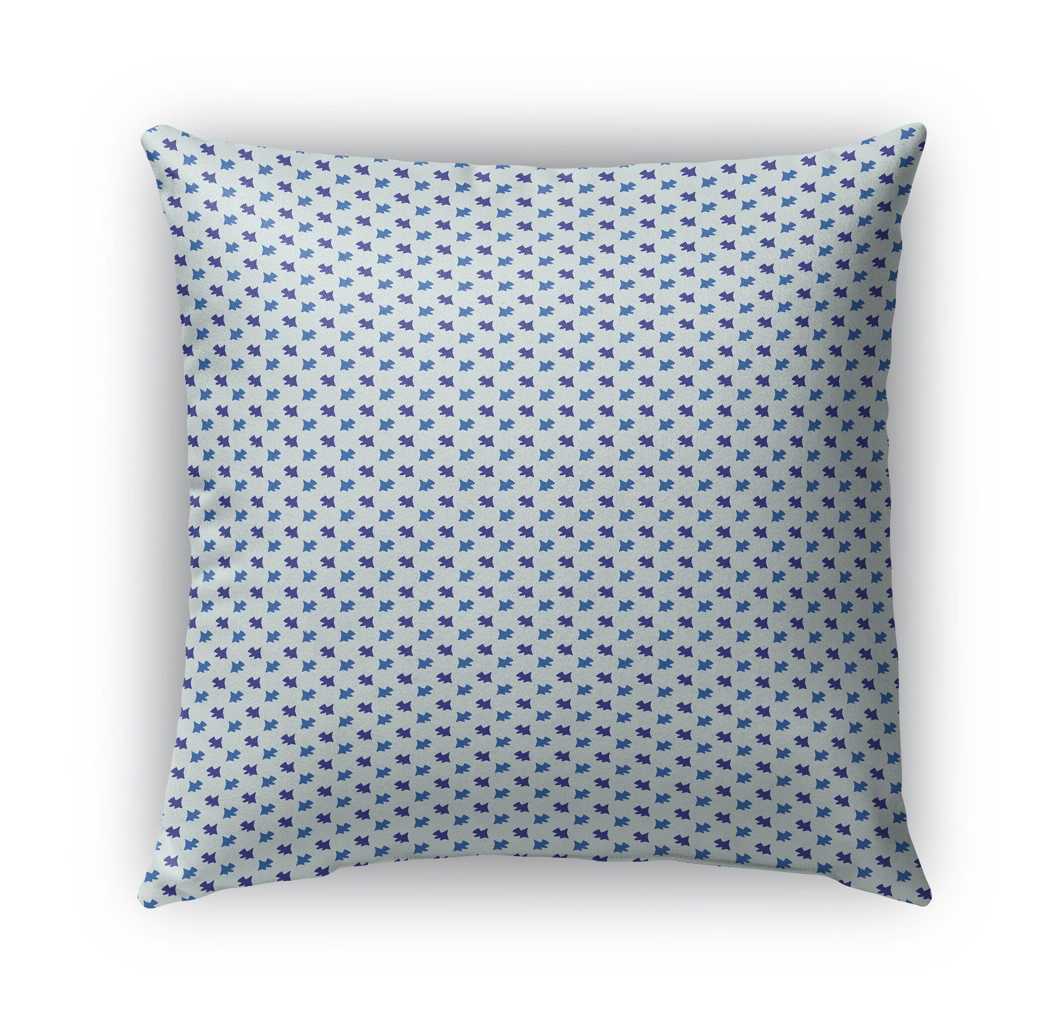 Cutrer Pattern Indoor/Outdoor Throw Pillow Size: 26