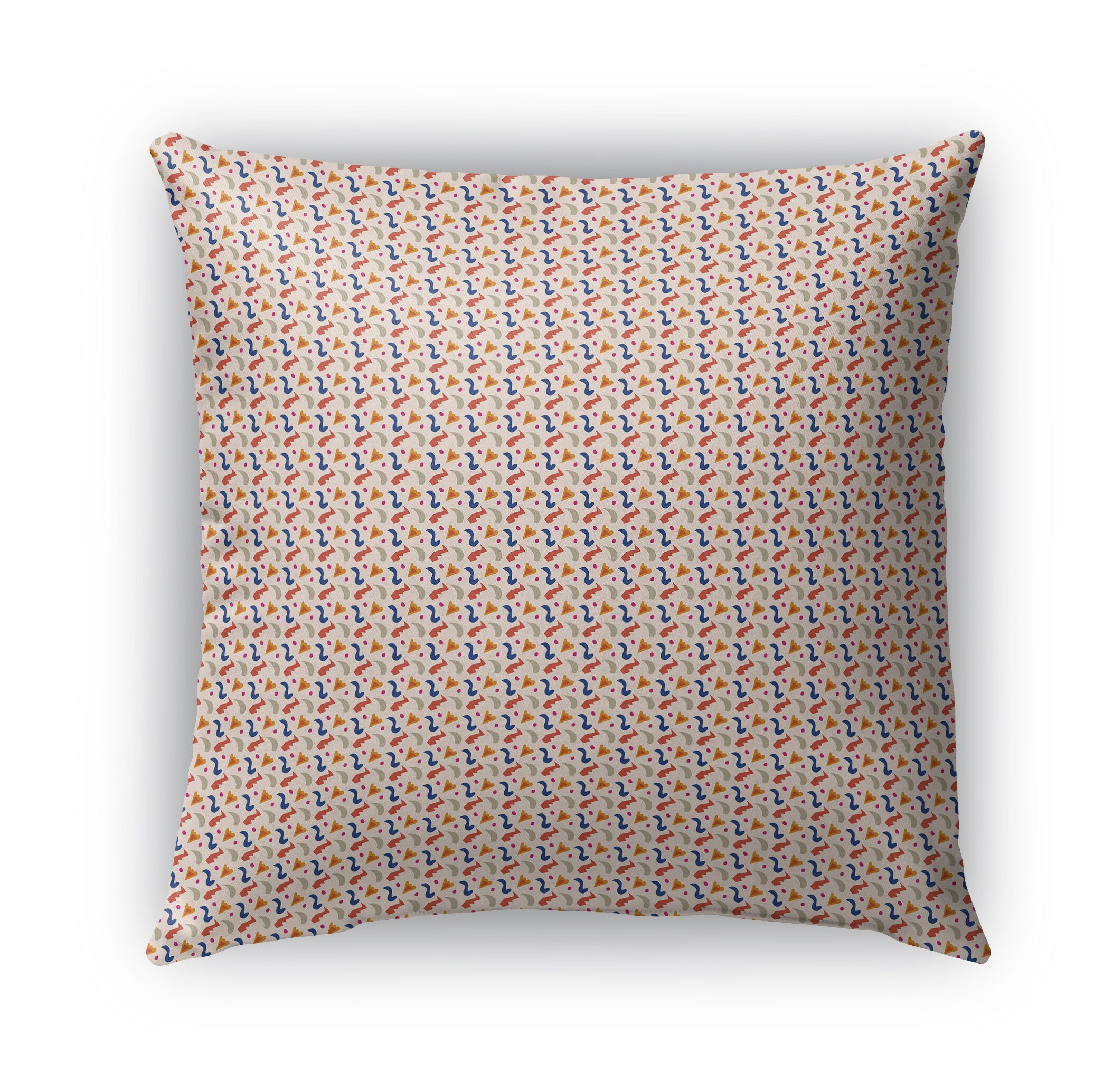 Subedi Pattern Indoor/Outdoor Throw Pillow Size: 26