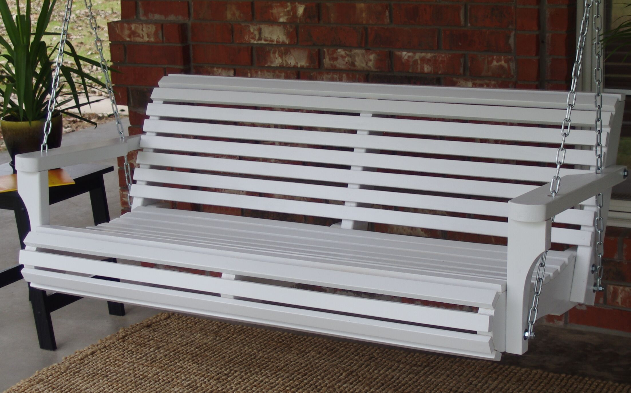 Arencibia Classic Style Porch Swing Size: 22