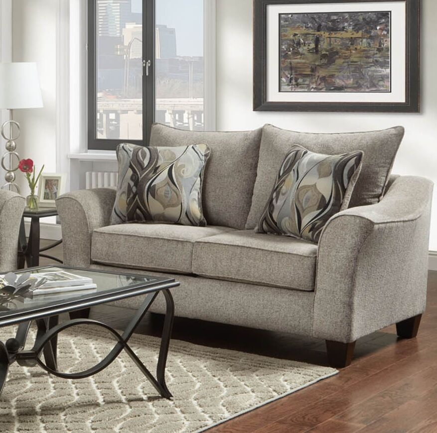 Clarwin Armchair Upholstery: Camero Platinum
