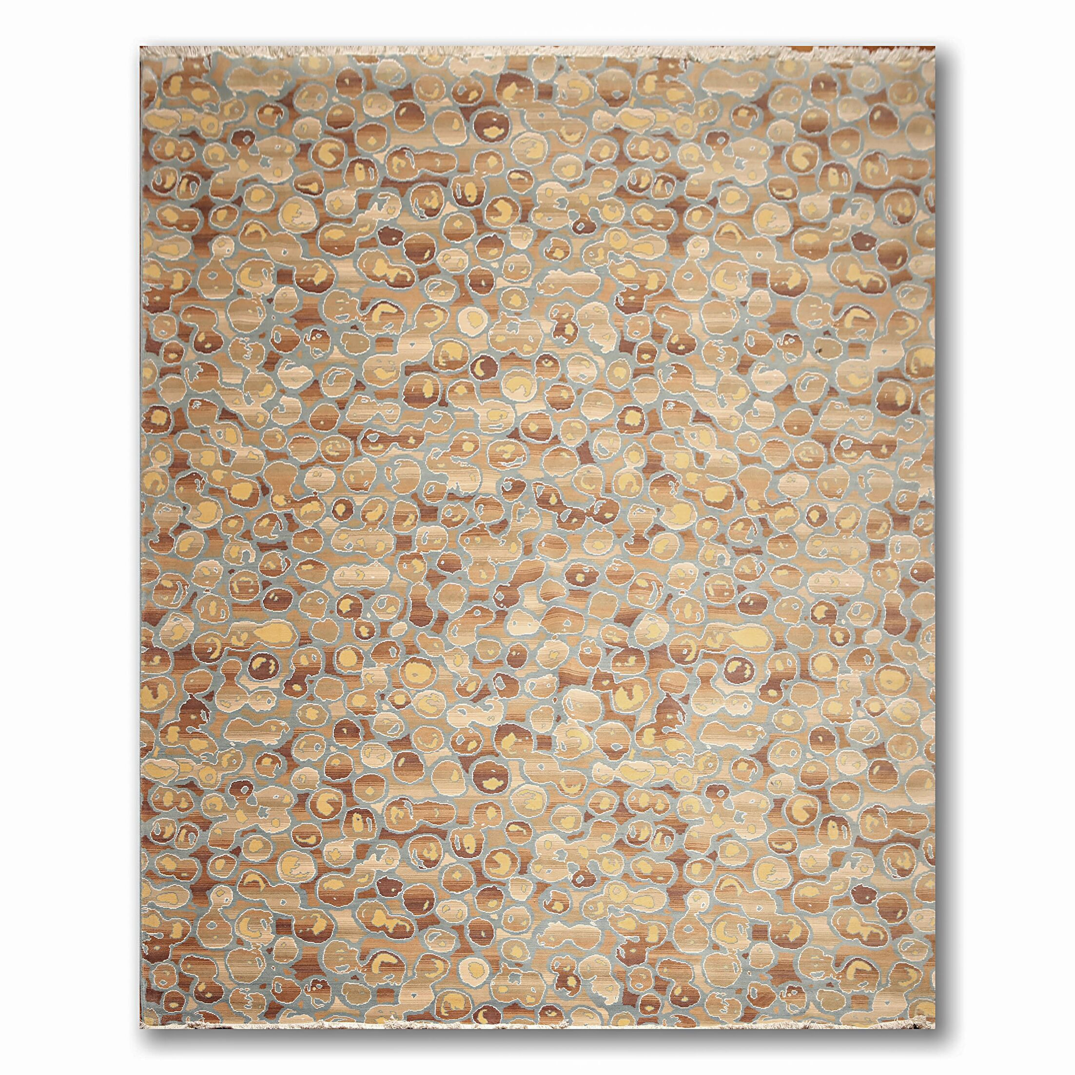 One-of-a-Kind Imlay Pile Hand-Knotted Beige/Brown Area Rug
