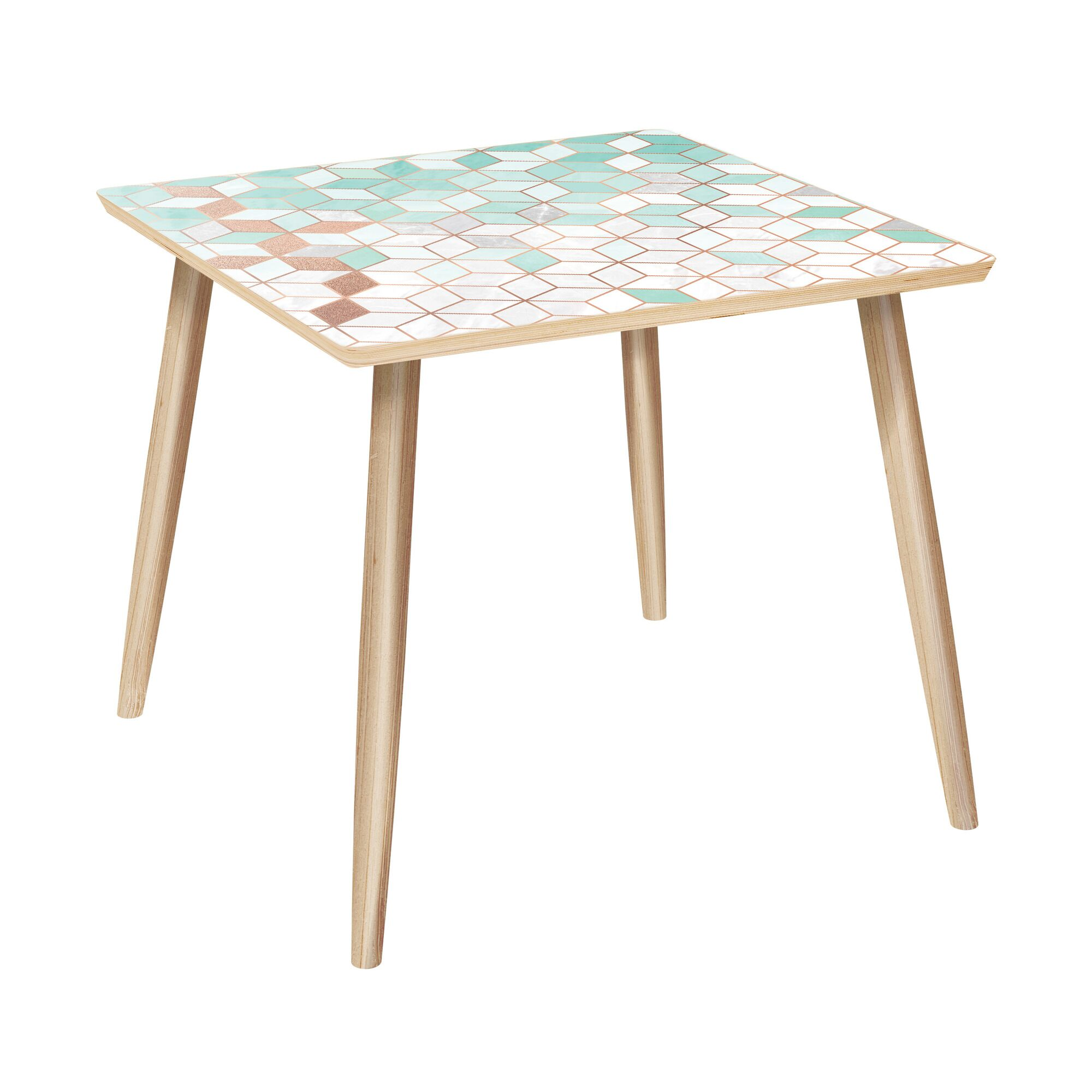 Prussia End Table Table Base Color: Natural