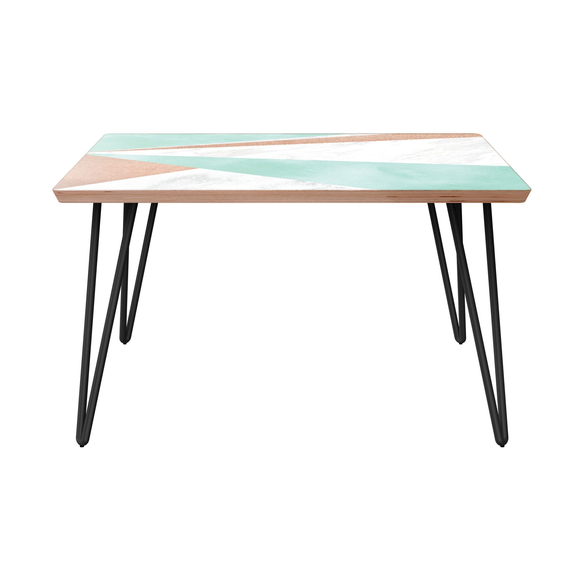 Gourley Coffee Table Table Base Color: Black, Table Top Color: Walnut