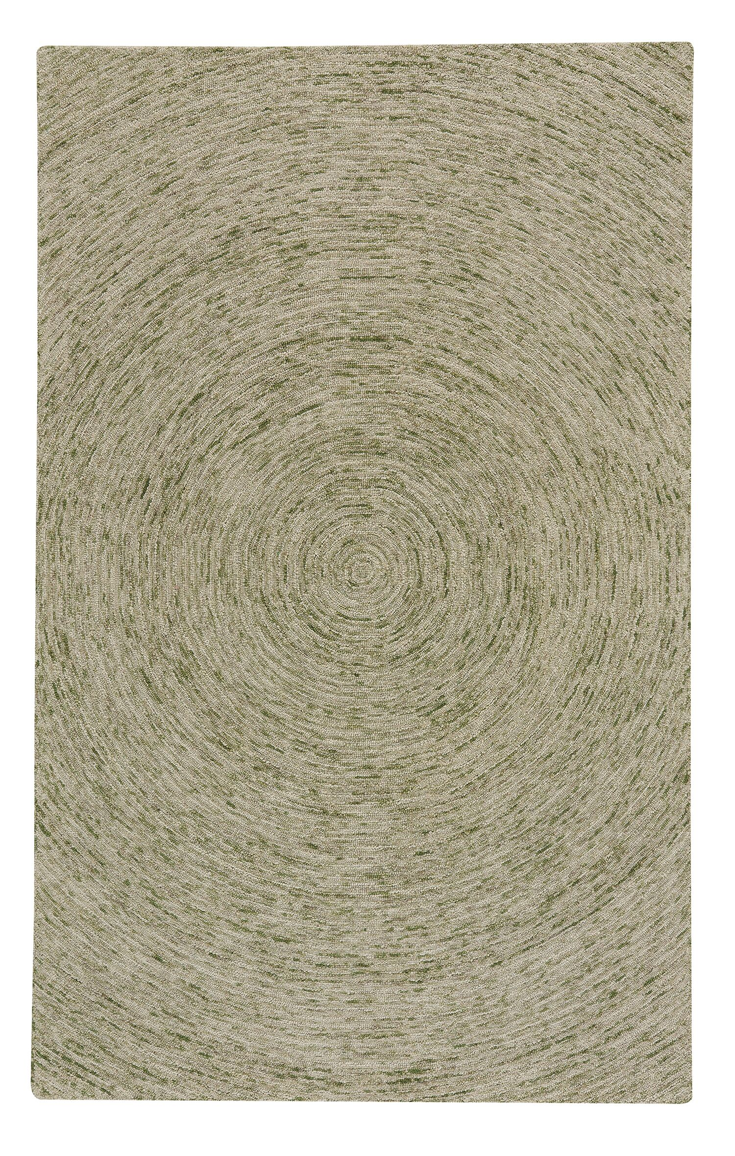 Eberlein Hand-Tufted Wool Beige Area Rug Rug Size: Rectangle 5' x 8'