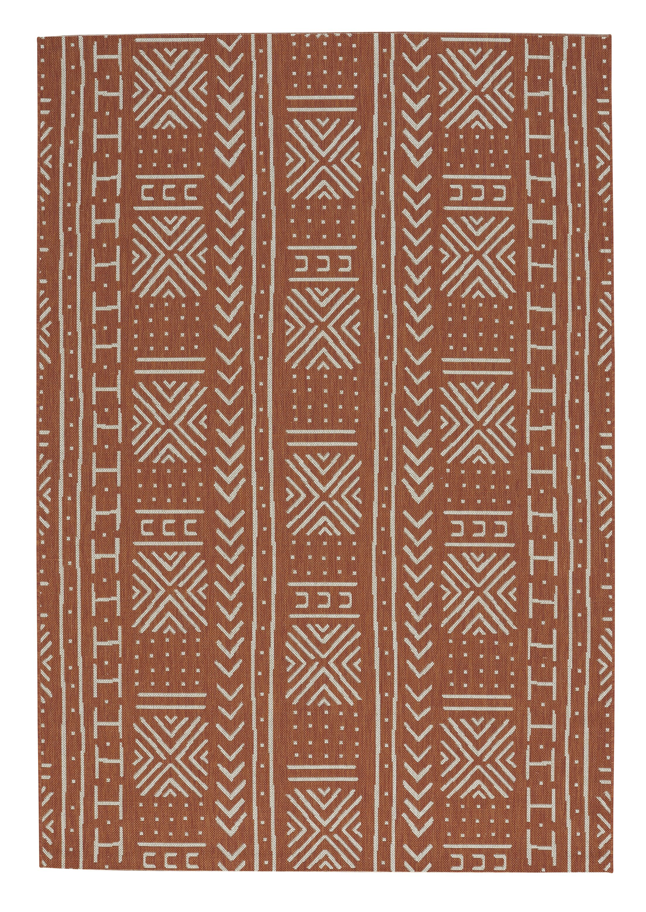 Pillar Mali Cloth Cinnamon Area Rug Rug Size: Rectangle 7'10