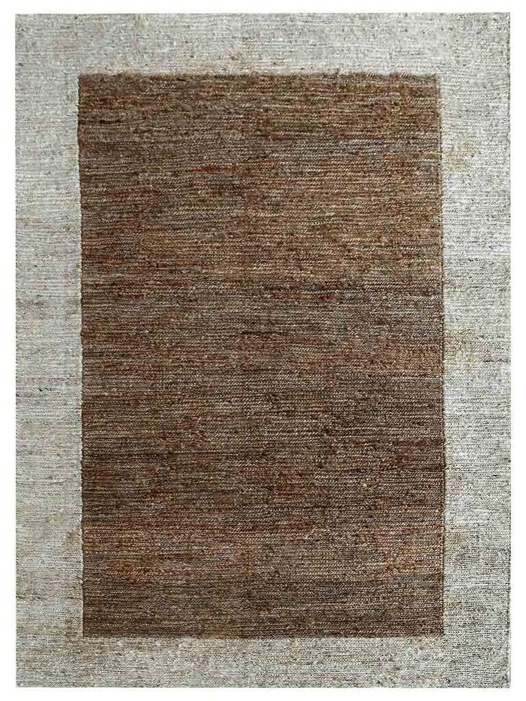 Cozette Hand-Knotted Brown/Gray Indoor/Outdoor Area Rug Rug Size: Rectangle 6' x 9'