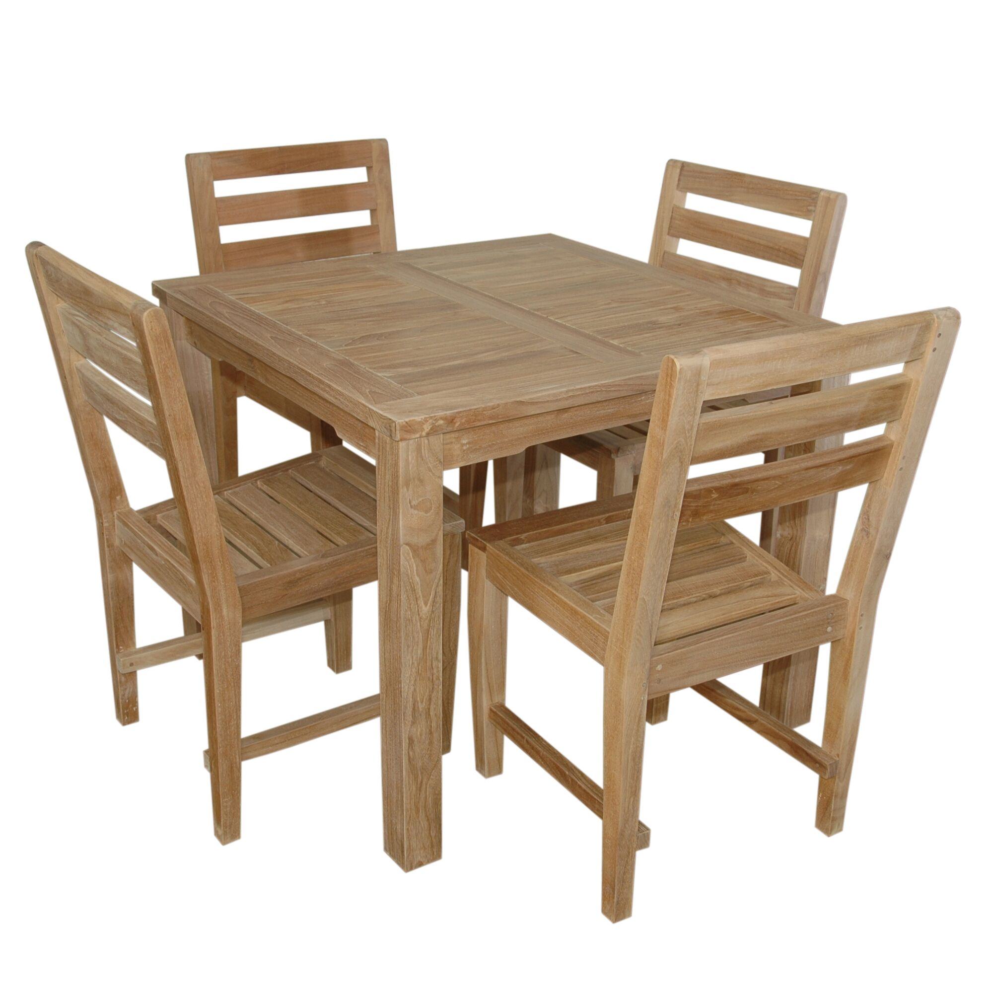 Kratz 5 Piece Teak Dining Set
