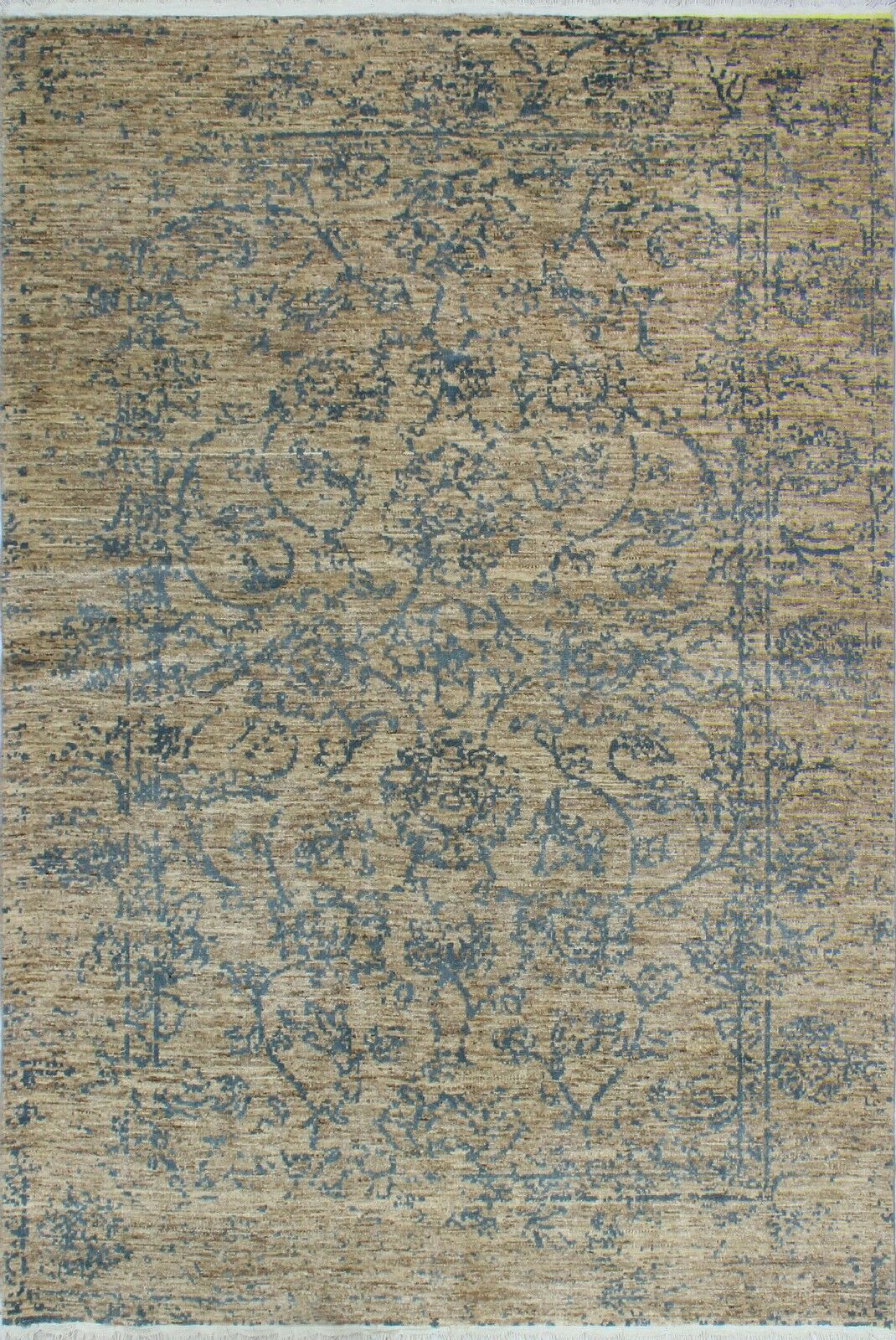 One-of-a-Kind Millman Bahati Hand-Knotted Beige Area Rug