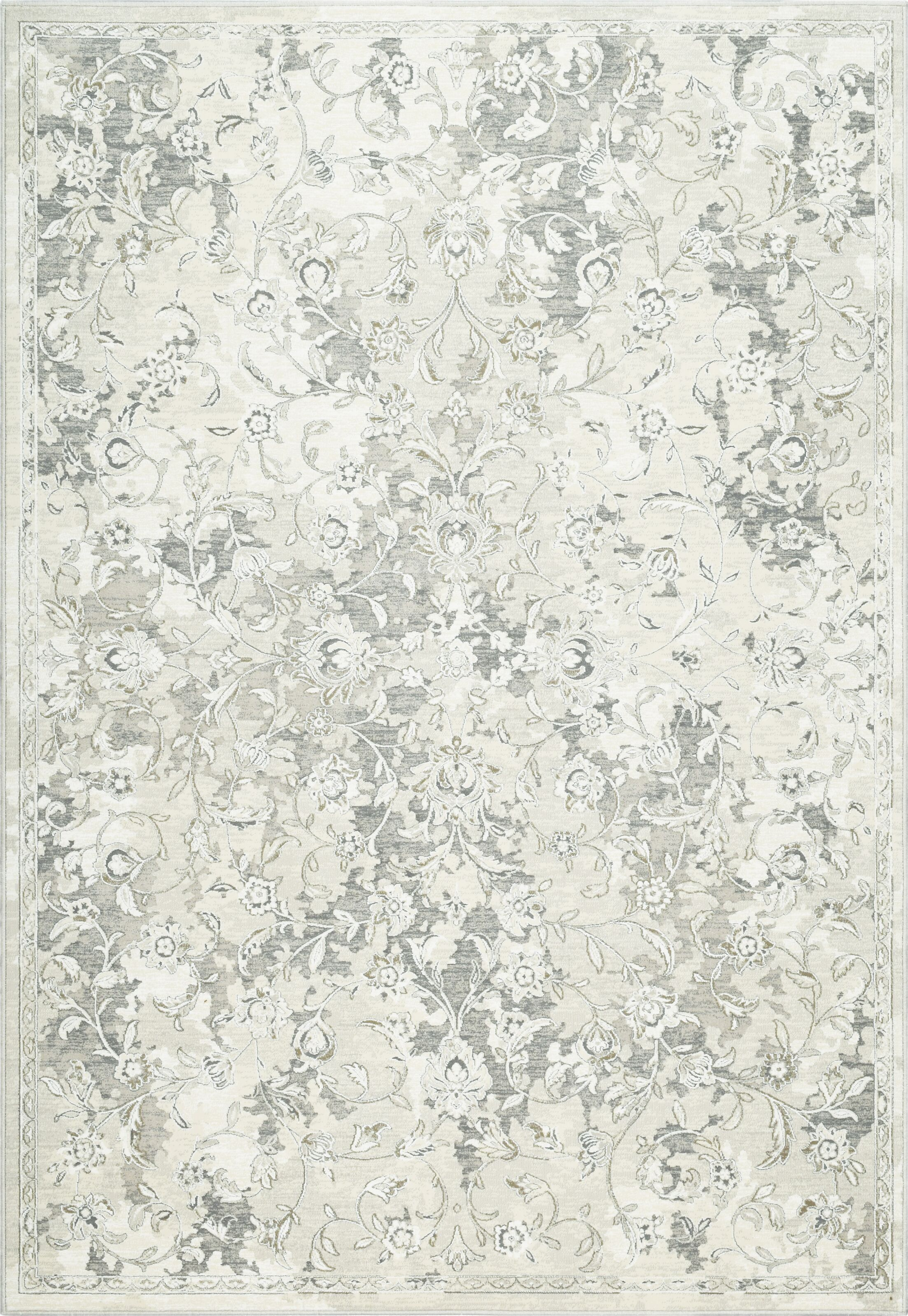 Collingwood Beige/Taupe Area Rug Rug Size: Rectangle 6'7