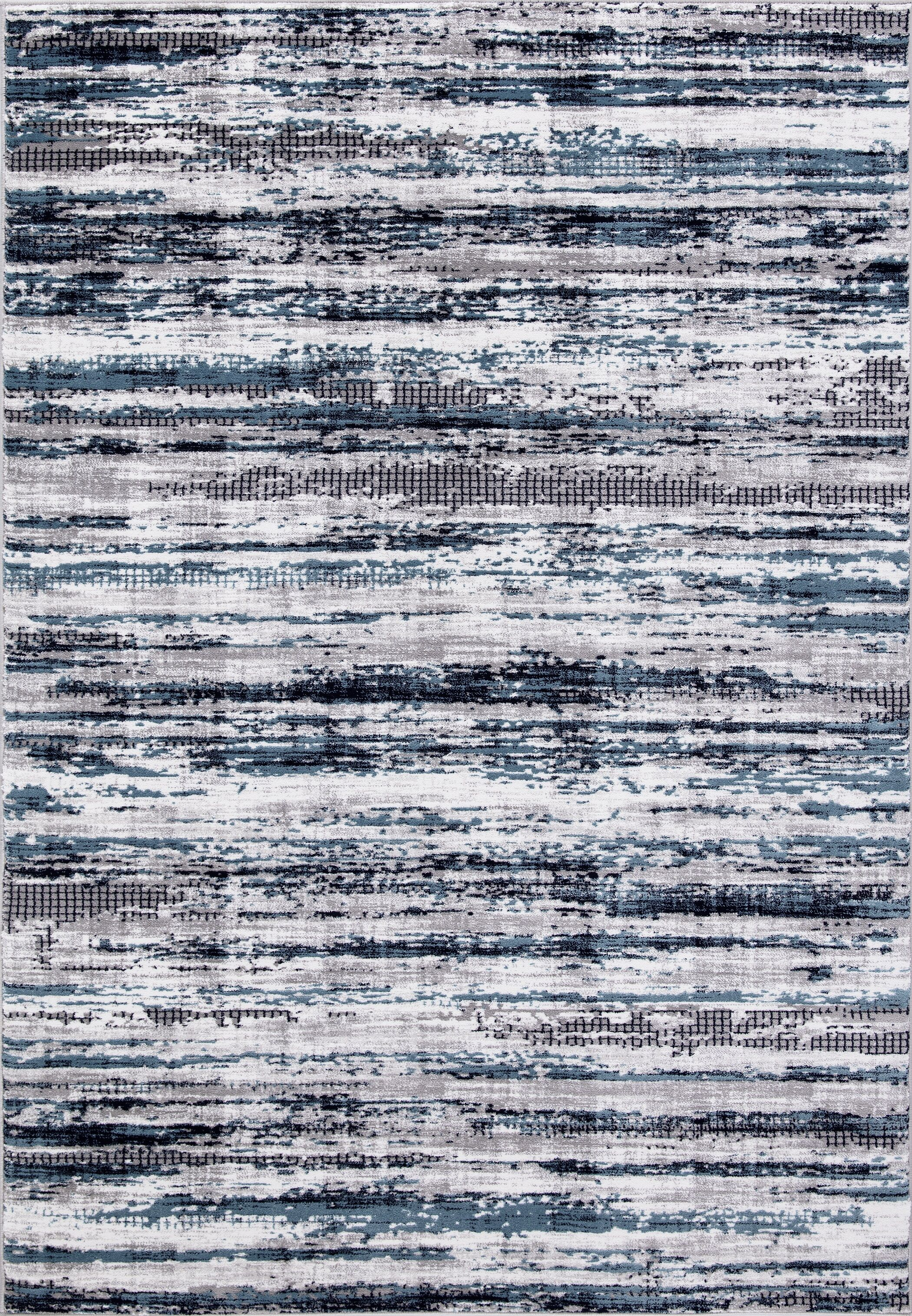 Mccollough Beautifully Vintage Blue/Gray Area Rug Rug Size: Rectangle 6'7