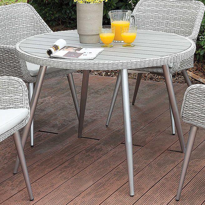 Ritz Metal Dining Table