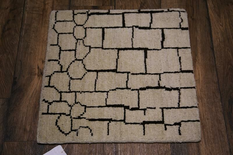 One-of-a-Kind Lam Oriental Hand-Knotted Wool Brown Area Rug