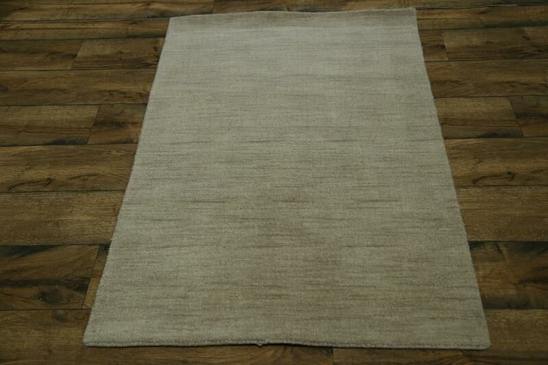 Fortune Oriental Hand-Knotted Wool Gray Area Rug
