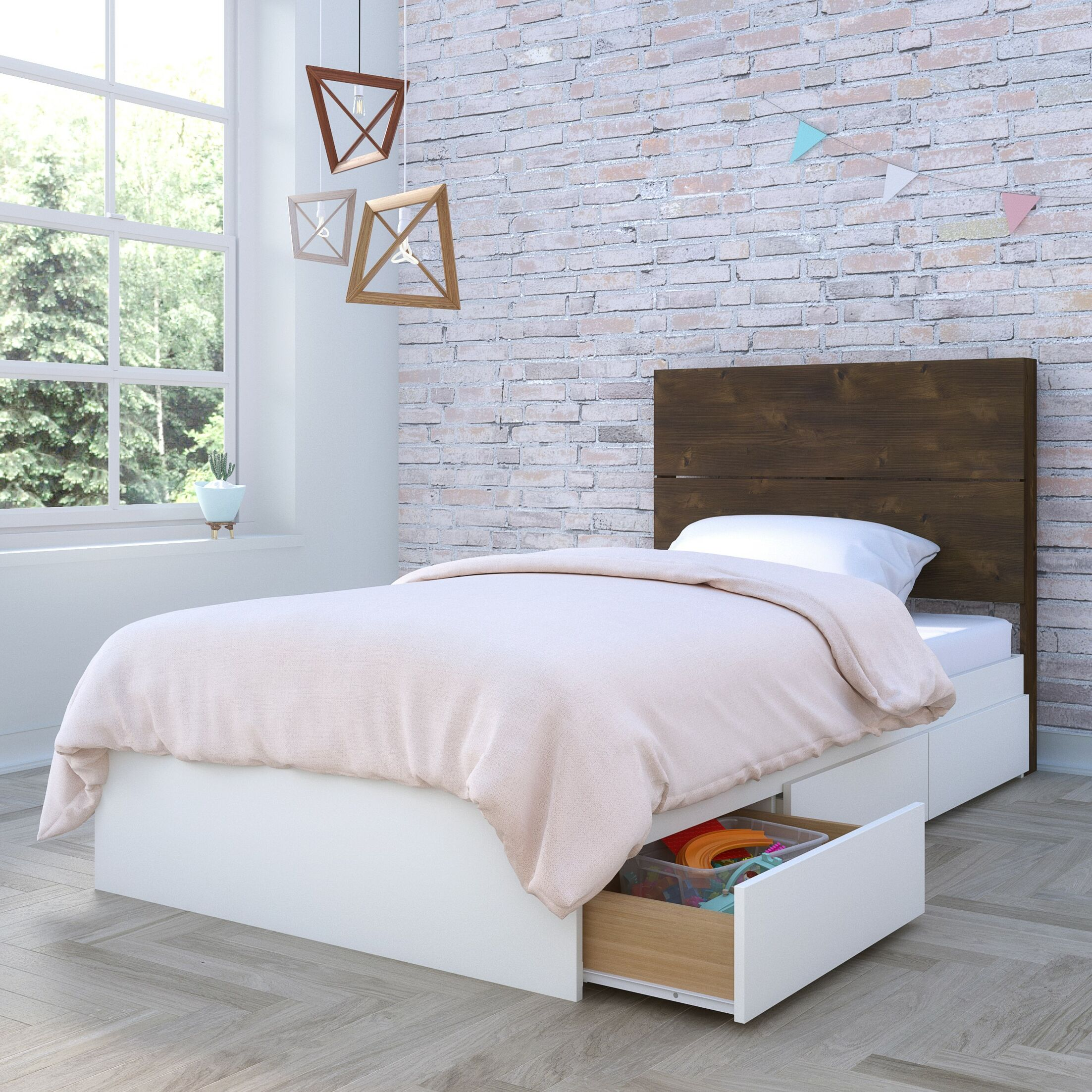 Mcinnis Storage Platform Bed Size: Twin