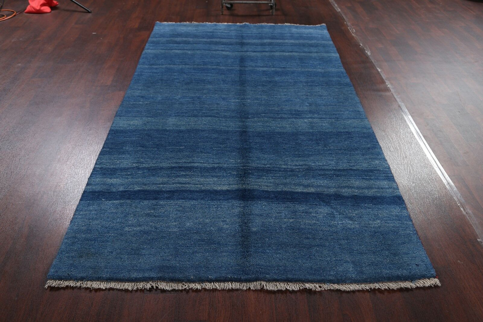 One-of-a-Kind Shiraz Gabbeh Persian Traditional Hand-Knotted 5'2