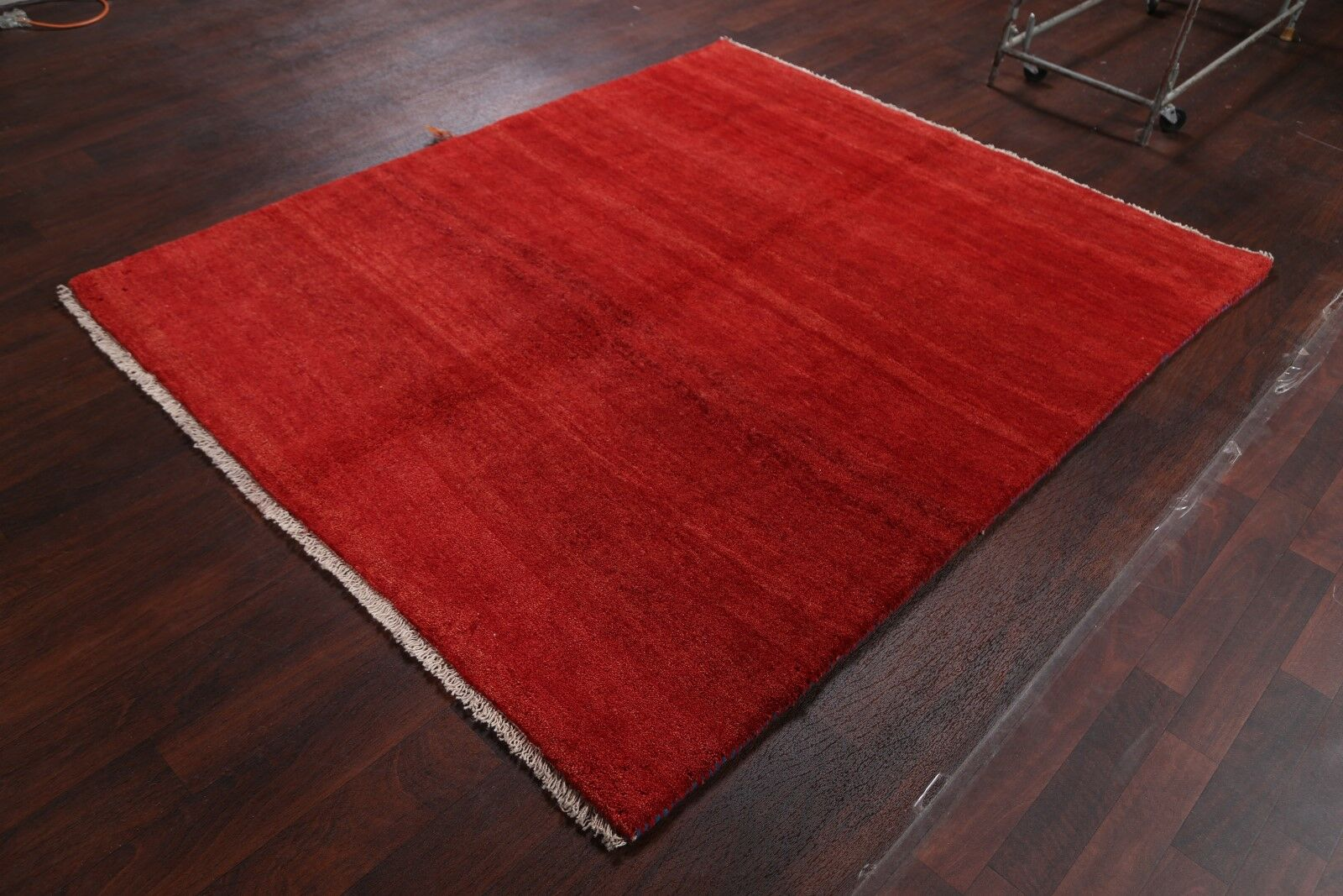 One-of-a-Kind Classical Shiraz Gabbeh Traditional Persian Hand-Knotted 5'9