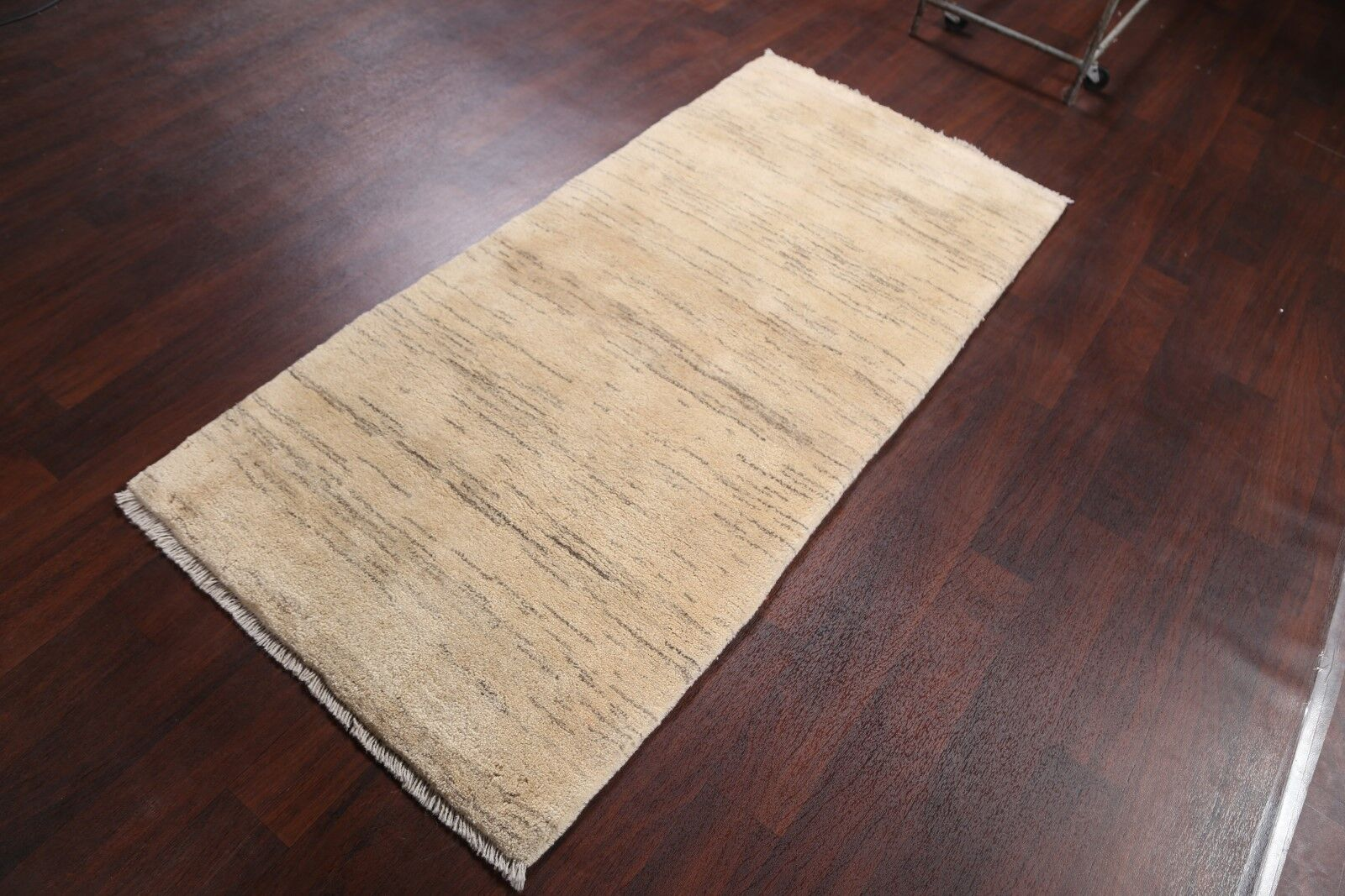 One-of-a-Kind Classical Shiraz Gabbeh Persian Traditional Hand-Knotted 3' x 6'4